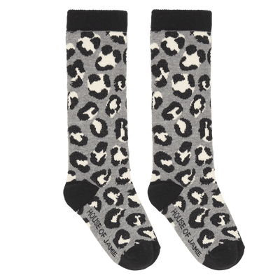 House Of Jamie - Knee Socks Rocky Leopard