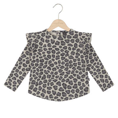 House Of Jamie - Girls Sweater Rocky Leopard