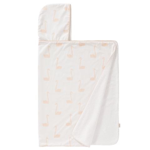Fresk - Hooded Towel Swan Pale Peach