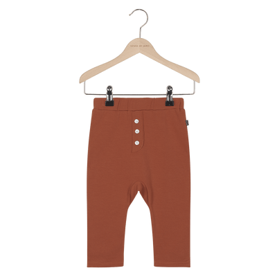 House Of Jamie - Button Baggy Pants Rust
