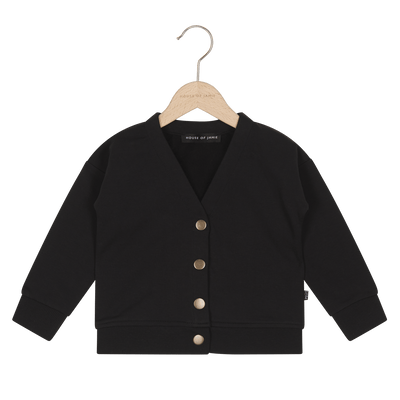 House Of Jamie - Button Cardigan Black
