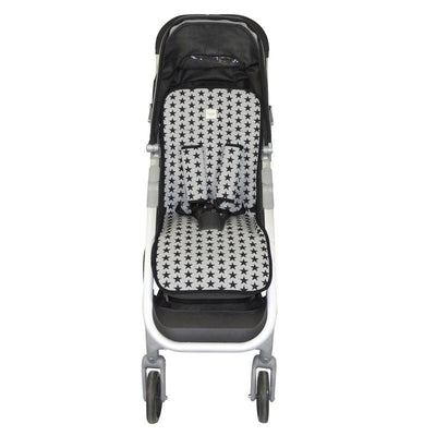 Fundas - Padded cover universal for stroller Black Star