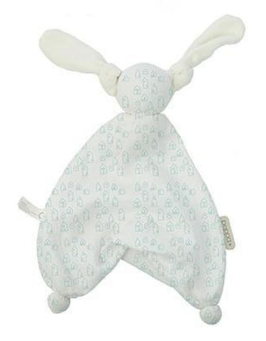Peppa - Floppy Muslin Houses White/Mint