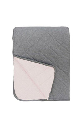 Mister Fly - QUILT Reversible pink/Charcoal