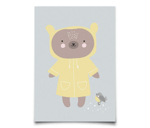 Eef Lillemor - Postcard Winter Bear
