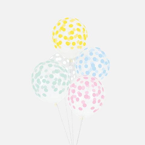 My Little Day - Confetti Balloons Pastel