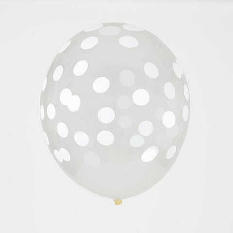 My Little Day - Confetti Balloons White
