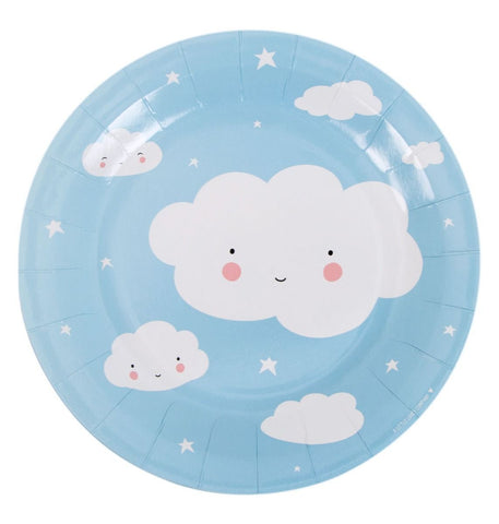 A Little Lovely Company - Celebrations Plates Cloud