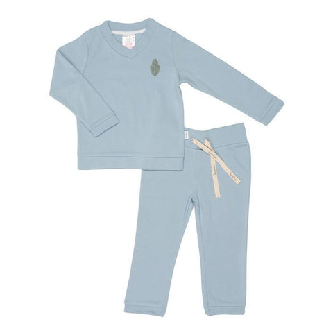 Koeka - Pyjamas Leaf boys Soft Blue