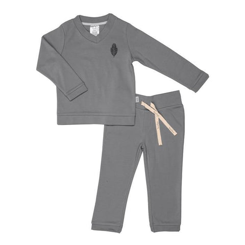 Koeka - Pyjamas Leaf boys Steel Grey