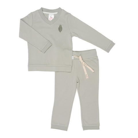 Koeka - Pyjamas Leaf boys Olive Green