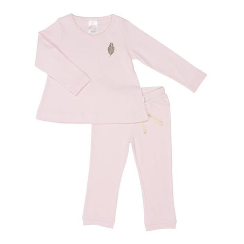 Koeka - Pyjamas Leaf Girls Water Pink