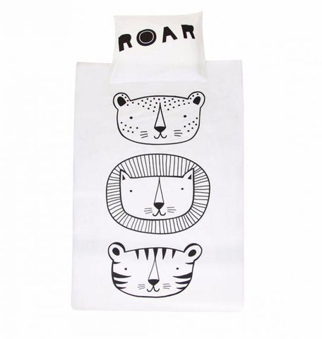 A Little Lovely Company - Duvet Cover Roar
