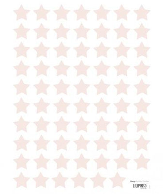 Lilipinso - Wall Sticker Stars Pink