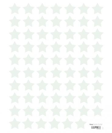 Lilipinso - Wall Sticker Stars Green