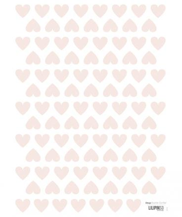 Lilipinso - Wall Sticker Hearts Pink