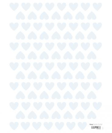 Lilipinso - Wall Sticker Hearts Blue