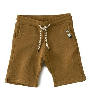 Little Label - Boys Sweat Shorts Brown Sugar
