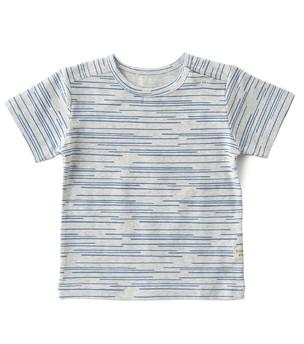 Little Label - Boys T-Shirt Blue Sticks