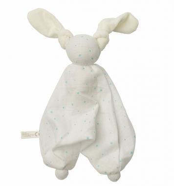 Peppa - Floppy Muslin Stars White/Blue