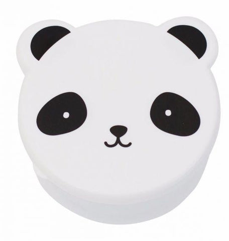 A Little Lovely Company - Set of 4 Snack Box Panda