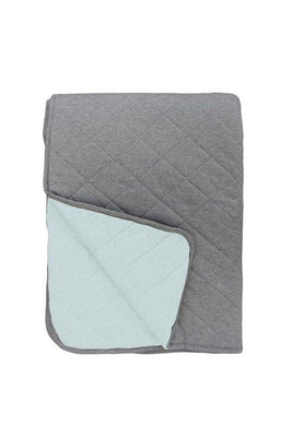 Mister Fly - QUILT Reversible Seafoam/Charcoal