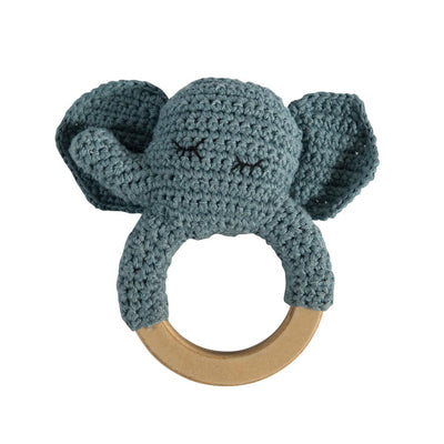 Sebra - Crochet Rattle Elephant