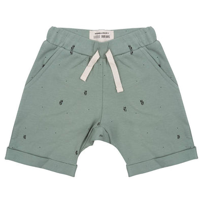 Little Indians - Shorts PalmLeaves Soft Green