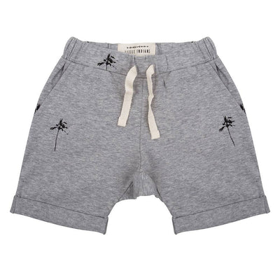 Little Indians - Shorts Palmtrees Grey Melange