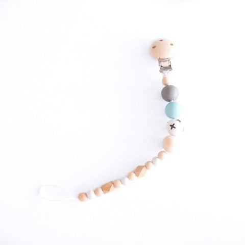 Little Small Pacifier Cord Pastel Blue