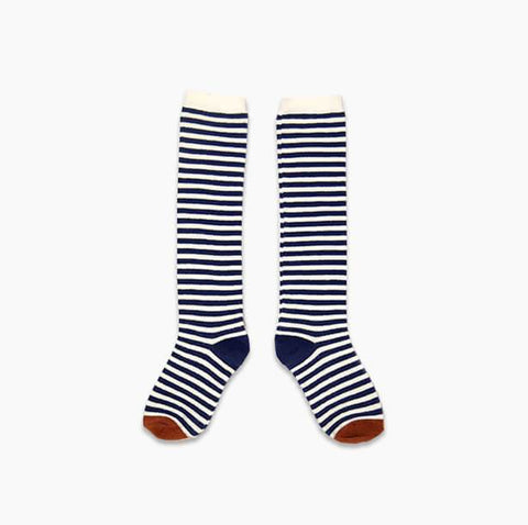 Sproet & Sprout - Socks Navy Stripes