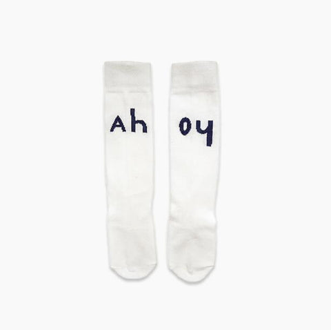 Sproet & Sprout - Socks Off White Ahoy