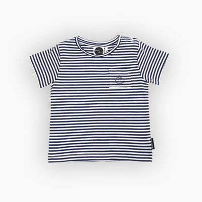Sproet & Sprout - T-Shirt Basic Navy Stripes