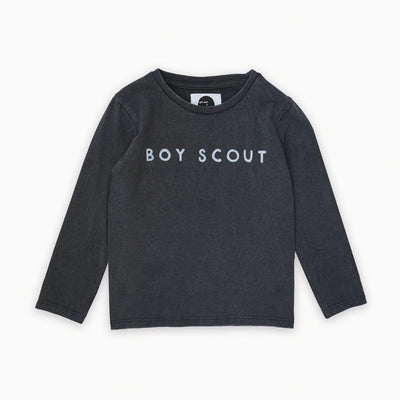 Sproet & Sprout - T-Shirt Longsleeve Boyscout Black
