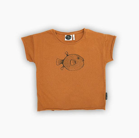 Sproet & Sprout - T-Shirt Pufferfish