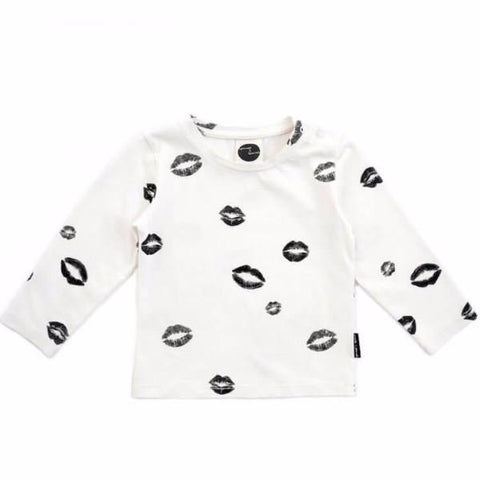 Sproet & Sprout T-SHIRT 'Kiss allover'