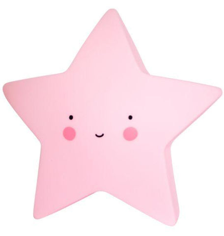 A Little Lovely Company - Mini Star Light Pink