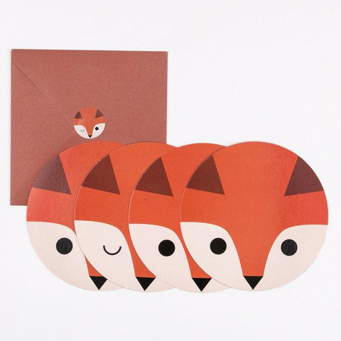 My Little Day - Mini Fox Invitations