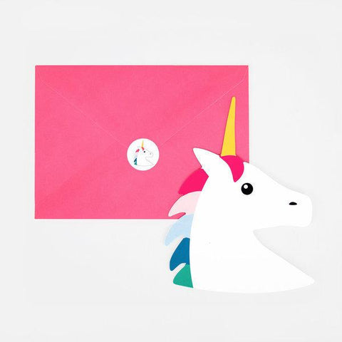 My Little Day - Unicorn Invitations