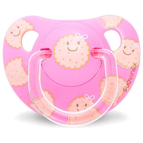 Teether Suavinex Cookies Pink (+6M)