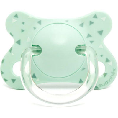 Suavinex - Pacifier Fusion Physiological 0-4 Months Triangles Mint