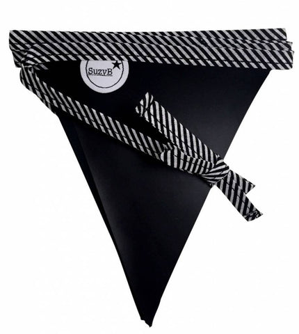 Chalkboard Party Flags Stripes