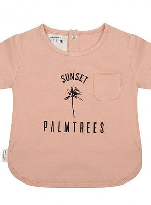 Little Indians - T Shirt Sunset Dusty Coral