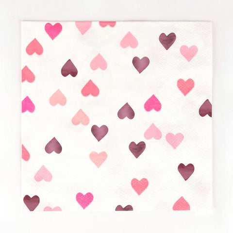 My Little Day - Hearts Napkins