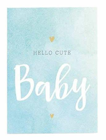 Wishcard Hello Cute Baby