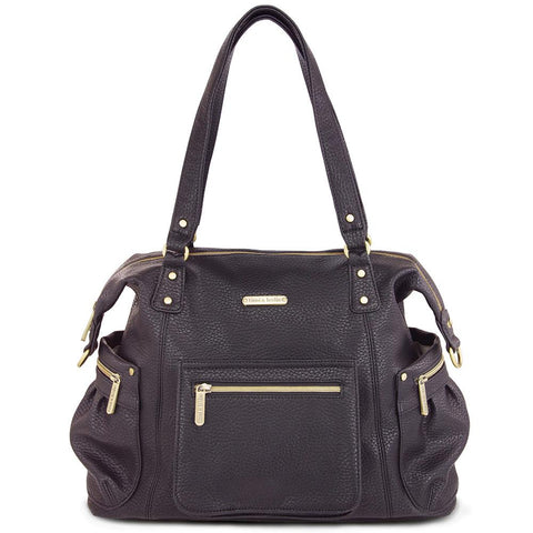 "Diaper Bag Timi & Leslie ""Abby"" Pebble Black"