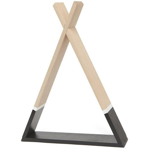 Petit Monkey - Shelf Teepee Black