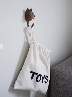 TELLKIDDO - Fabric bag TOYS small