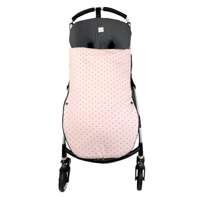 Fundas - Footmuff for pushchair Little Fun Peach