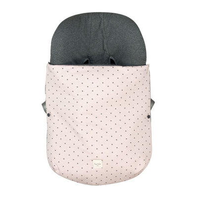 Fundas - Footmuff For Car Seat Group 0 Little Fun Peach